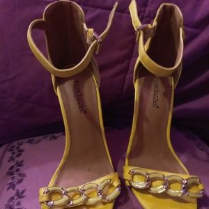 New yellow heels